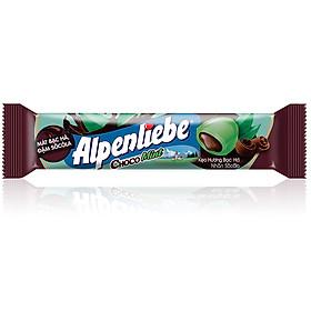 Kẹo Alpenliebe Hương Bạc Hà Nhân Sôcôla (Gói 16 Thỏi)