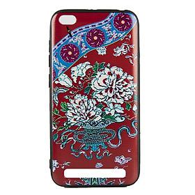 Ốp lưng Xiaomi Redmi 4A Diên Hi - Hoa đỏ