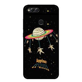 Ốp lưng cho điện thoại  Huawei Honor 7X - 0311 SPACE02 - Viền TPU dẻo - Hàng Chính Hãng