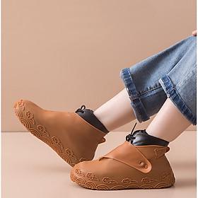 Ủng Bọc Giày Silicon Đi Mưa Chống Thấm Nước, Chống Bụi Bẩn Cao Cấp