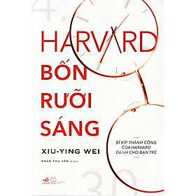 Harvard Bốn Rưỡi Sáng - Tặng Kèm Sổ Tay