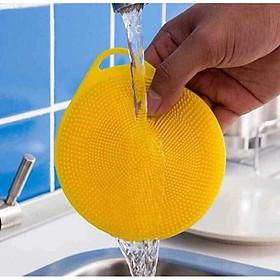 Miếng rửa chén bát Silicone đa năng