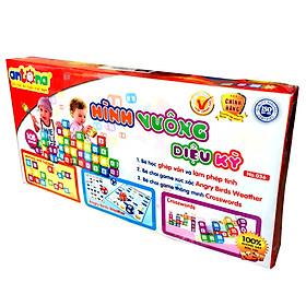 Đồ Chơi Xếp Hình Antona Kết Hợp Trò Chơi Crosswords 108 Chi Tiết BENRIMART-108