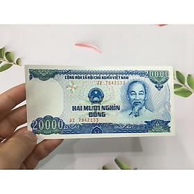 Tiền 20000 đồng Việt Nam 1991, mới đẹp như hình, tiền cổ Việt Nam, tặng phơi nylon bảo vệ - PCCB MINGT