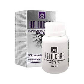 Heliocare Purewhite Radiance Max 240 Viên Uống Trắng Da Ngừa Lão Hóa ( hộp 60v)