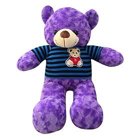 Gấu Bông Teddy ICHIGO (60cm) - Tím