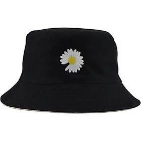 Mũ Nón Bucket Tai Bèo Nam Nữ In Hình Hoa Cúc Phong Cách Thời Trang Cực Hot -  Giao Ngẫu Nhiên