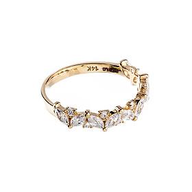 Nhẫn vàng DOJI cao cấp 14K 0819R-LAL304
