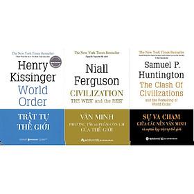 Combo Trọn Bộ 3 Cuốn Sách Tinh Hoa Về Các Nền Văn Minh Và Trật Tự Thế Giới ( Trật Tự Thế Giới + Văn Minh Phương Tây Và Phần Còn Lại Của Thế Giới + Sự Va Chạm Giữa Các Nền Văn Minh Và Sự Tái Lập Trật Tự Thế Giới ) Tặng BookMark Romantic
