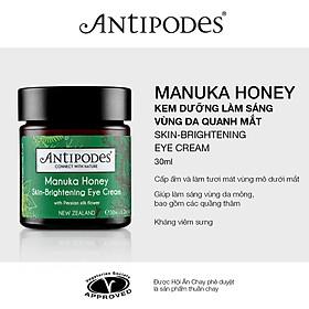 Kem Dưỡng Làm Sáng Vùng Da Quanh Mắt Antipodes Manuka Honey Skin-Brightening Eye Cream 30ml