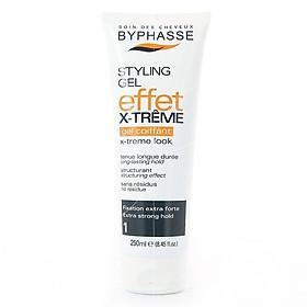 Gel định hình tóc cực mạnh x- trême Byphasse 250ML