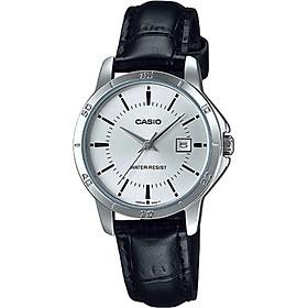 Đồng hồ nữ dây da Casio LTP-V004L-7AUDF
