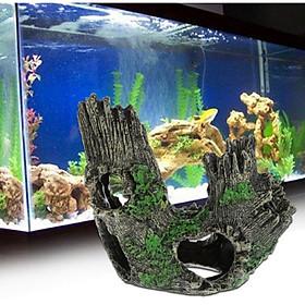 Khúc cây trang trí bể cá , thủy sinh- Ống cây trang trí - hang trú cho cá tôm