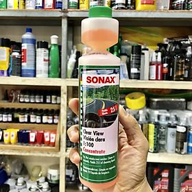 Dung dịch rửa kính đậm đặc Sonax Clear View 1:100 371141 250ml