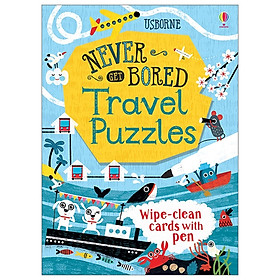 Travel Puzzles (Never Get Bored Cards)