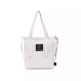 Hình đại diện sản phẩm Túi xách thời trang vải bố Tone Botusi CC3 TRẮNG
