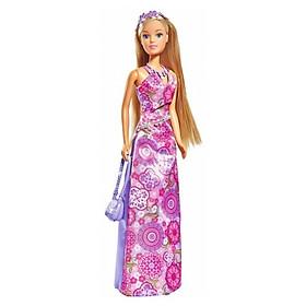 Đồ Chơi Trẻ Em Búp Bê Bữa Tiệc Hoa Steffi Love Flower Party 105733206 - Váy Hồng