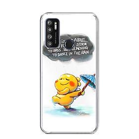 Ốp lưng điện thoại VSMART LIVE 4 - Silicon dẻo - 0009 RAIN01 - Hàng Chính Hãng