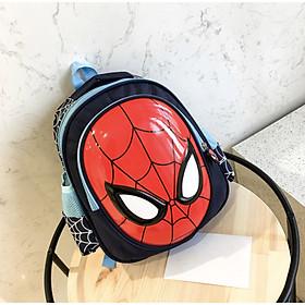 Balo học sinh Spiderman 26x30x13cm-0