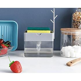 Dụng cụ đựng nước rửa chén thông minh - Tặng kèm miếng rửa chén bát