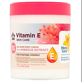 Dưỡng thể Superdrugs Vitamin E All Over Body Cream With Hibiscus Extract 465ml