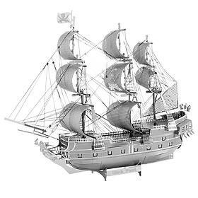 Mô Hình Lắp Ráp Kim Loại Piececool P044-S - Tàu Cướp Biển Black Pearl