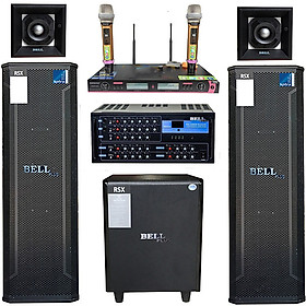 Dàn âm thanh karaoke và nghe nhạc BQS - 7700 BellPlus (hàng chính hãng)