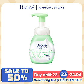 Bọt Rửa Mặt Ngừa Mụn Biore Marshmallow Whip Acne Care (150ml)