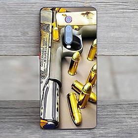Ốp điện thoại dành cho máy Xiaomi Redmi 4A - GOLDEN GUN MS DGDG016