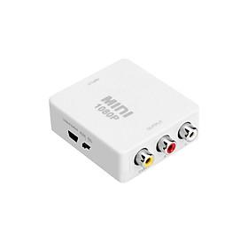 Bộ Chuyển Đổi Tín Hiệu HDMI sang AV Full HD 1080p - Trắng
