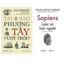 Combo Sách : Tại Sao Phương Tây Vượt Trội + Sapiens: Lược Sử Loài Người