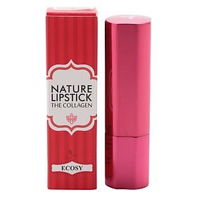 Son Lì Ecosy Nature Lipstick The Collagen Rd102 - Đỏ Tươi (Số 2)-3