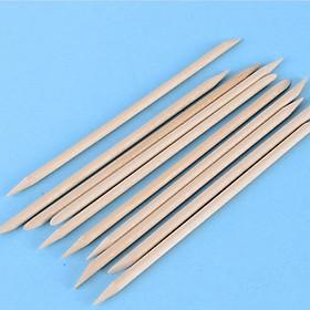 Set 10 que gỗ làm sạch móng chuyên nghiệp