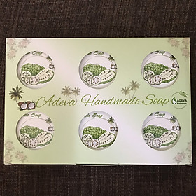 Xà phòng handmade Trái nhàu Noni - Set 6 soap - Adeva Naturals