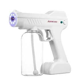 Electric Sprayer Portable Fogger Machine,Steam Gun Spray Machine Atomizer with Blue Light 800ml Capacity,Ultra Fine