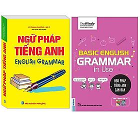 Combo Ngữ Pháp Tiếng Anh English Grammar (Sách 4 Màu)+Ngữ Pháp Tiếng Anh Căn Bản - Basic Grammar English Grammar In Use (Phiên Bản Chibi)