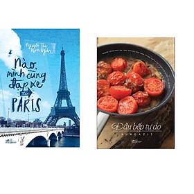 Combo 2 cuốn sách: Nào, mình cùng đạp xe đến Paris + Đầu bếp tự do