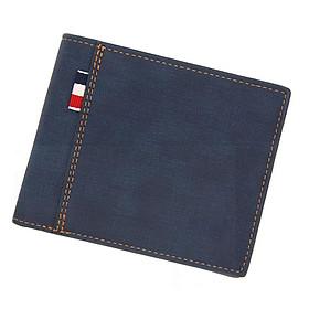 Bóp da nam dáng ngang cầm tay da Pu cao cấp chống nổ, ví ngắn 3 lá có ngăn khóa đựng tiền, đa dạng trong màu sắc, dáng nhỏ gọn không bị cộm túi, dễ dàng vệ sinh