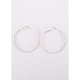 Bông tai kiểu dáng Viền xoắn, phong cách thời trang Hàn Quốc sang trọng trang nhã, (XTM-K723-16)