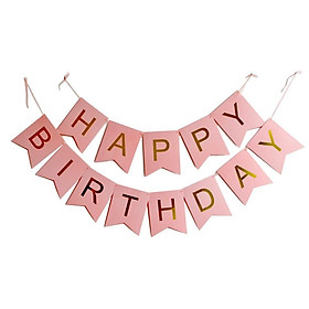 Dây chữ Happy Birthday  trang trí sinh nhật