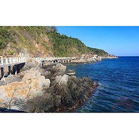 NHA TRANG: Tour Biển Đêm Đảo Yến Đông Tằm Trọn Gói Tàu Ra Đảo + Ăn Tối Thực Đơn Hải Sản Nướng Cao Cấp + Vé Tham Quan + Thư Giãn Tại Quầy Bar Ven Biển
