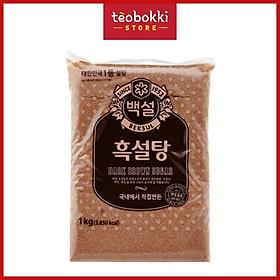 [Chỉ Giao HCM] - Đường đen Hàn Quốc Beksul 1kg