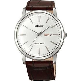 Đồng hồ Nam dây da Orient FUG1R003W6