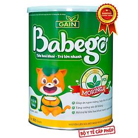 Sữa mát tăng cân, cải thiện biếng ăn và táo bón Babego từ 12 - 36 tháng, 800G-1