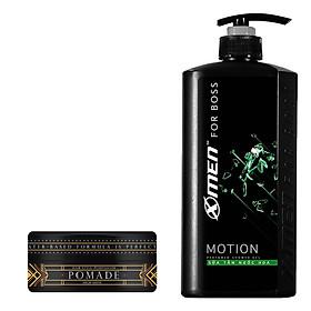 Combo Sữa tắm nước hoa X-Men for Boss Motion 650g + Pomade tạo kiểu tóc High Hold 60g