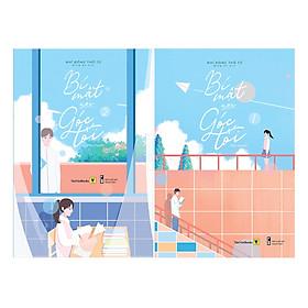 Combo Truyện Thanh Xuân Vườn Trường: Bí Mật Nơi Góc Tối (Trọn Bộ 2 Tập) - Ngôn Tình Trung Quốc Ăn Khách Nhất / Tặng Kèm Bookmark Green Life