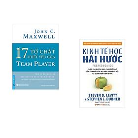 Combo 2 cuốn sách: 17 Tố Chất Thiết Yếu Của TEAM PLAYER + Kinh tế học hài hước