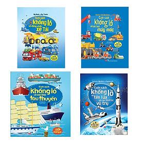 Big Book - Cuốn Sách Khổng Lồ Về Các Loại Máy Móc + Tàu Thuyền + Những Chiếc Xe Tải + Tên Lửa Và Các Thiết Bị Vũ Trụ (4 Cuốn)