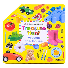 A Fold Out Book Treasure Hunt Around The House