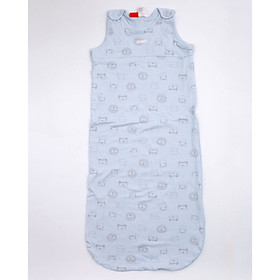 Túi ngủ 3 lỗ chất cotton hình sư tử cho bé
